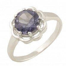 Серебряное кольцо Дианта с александритом