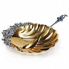 Серебряная икорница Наяда