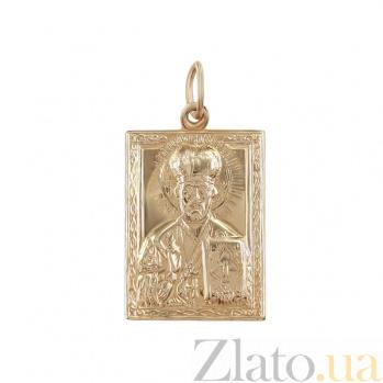 Золотая ладанка Святой образ 000026586