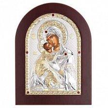 Позолоченная Владимирская икона Божьей Матери