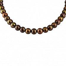 Ожерелье Каллисто с коричневыми жемчужинами