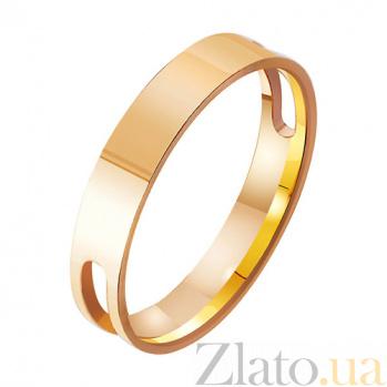 Золотое обручальное кольцо Решающий шаг TRF--411995