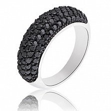 Серебряное кольцо Матильда