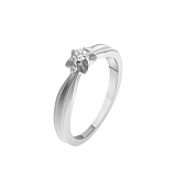 Золотое кольцо Звезда с бриллиантами