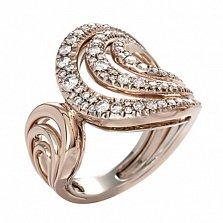 Кольцо Serpenti из желтого золота с бриллиантами