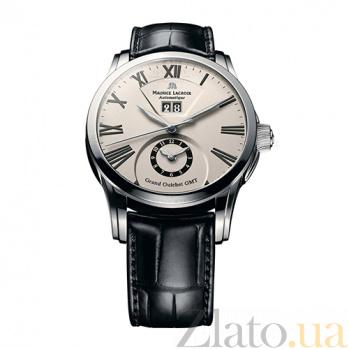 Часы Maurice Lacroix коллекции Pontos Grand Guichet GMT MLX--PT6098-SS001-110