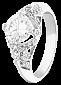 Серебряное кольцо с фианитами Альяна 000025746