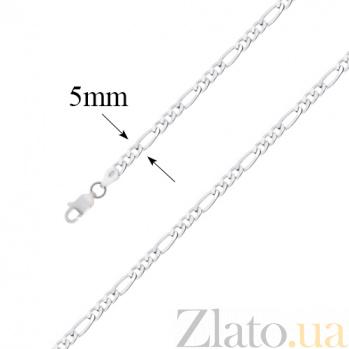 Серебряная цепочка Фигаро 10050022