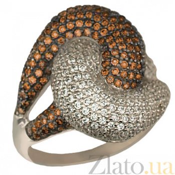 Кольцо из белого золота Нереида VLT--ТТ1024