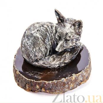 Серебряная статуэтка Лисица 1462
