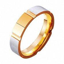 Золотое обручальное кольцо Священное чувство