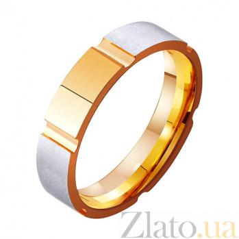 Золотое обручальное кольцо Священное чувство TRF--411340