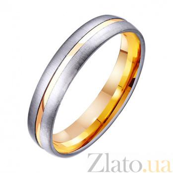 Золотое обручальное кольцо Высшая ценность TRF--421308