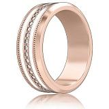 Обручальное кольцо из розового золота Тайна: Вдохновение