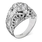 Золотое кольцо с бриллиантами Carme