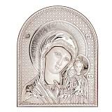 Серебряная икона Казанской Богородицы