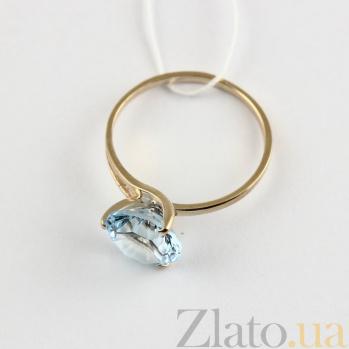 Кольцо из красного золота с топазом Селесте VLN--112-202-1