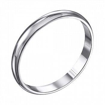 Серебряное обручальное кольцо 000119331
