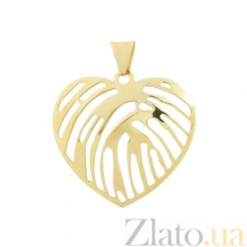 Золотой подвес Музыка сердца 2П760-0026