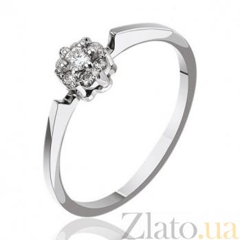 Кольцо из белого золота с бриллиантами Королева Марго EDM-КД7458/1