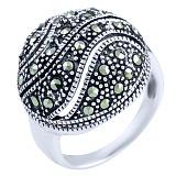 Кольцо из серебра Джиневра с марказитом