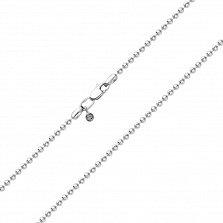 Серебряная цепочка Катрин из шариков