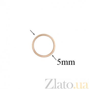 Золотые серьги-пуссеты с белой эмалью Тоннель 000032372