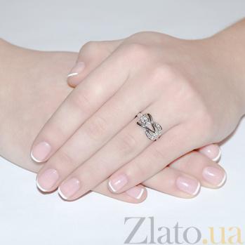 Кольцо из белого золота Ирэна с бриллиантами R 0314