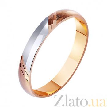 Золотое обручальное кольцо Мир любви TRF--411223