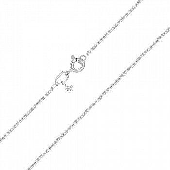 Срібний ланцюжок в якірному плетінні 1 мм 000118416