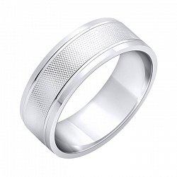 Обручальное кольцо из серебра 000102981