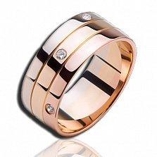 Золотое кольцо с бриллиантами Весна в Париже (мужское)