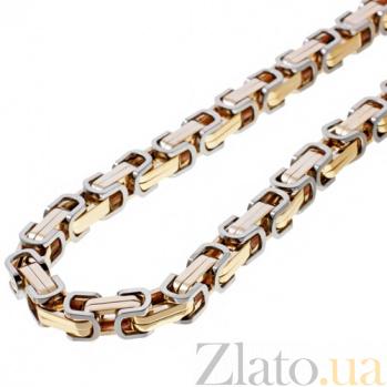 Золототая цепь с бриллиантом Барон 000019549