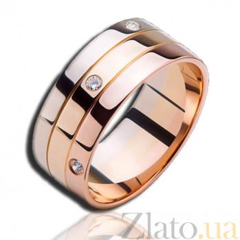 Золотое кольцо с бриллиантами Весна в Париже (мужское) PRT--WR2018-19