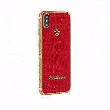 Apple IPhone XS Noblesse Palatial Red в красной коже, золоте и бриллиантами