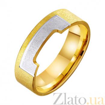 Золотое обручальное кольцо Влечение сердца TRF--431424
