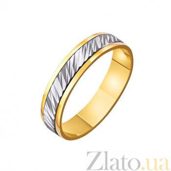 Золотое обручальное кольцо Небо Венеры TRF--4411444