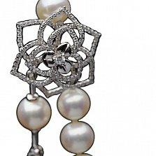 Жемчужное колье с бриллиантами Отранто