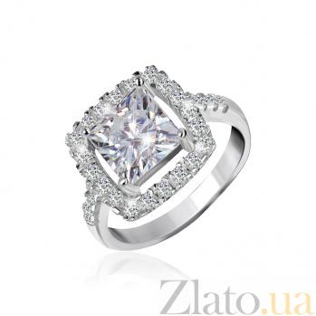 Серебряное кольцо Николь с прозрачными фианитами 000025509