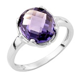 Серебряное кольцо Бетани с александритом