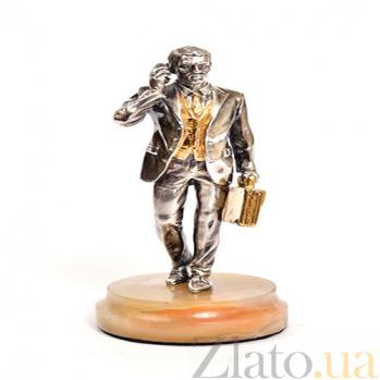 Серебряная статуэтка Босс 1591