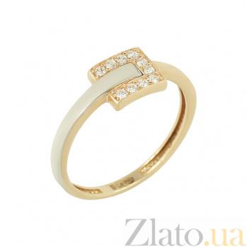 Золотое кольцо с фианитами Джаннет 2К304-0062