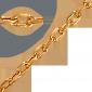 Золотая цепочка Уэльс LEL--12640