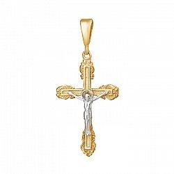 Серебряный крест Милость Божья 000025198