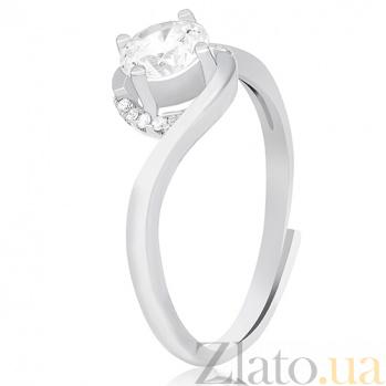 Серебряное кольцо Сонинья с фианитами 000030938