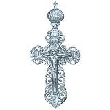 Серебряный крестик Царство
