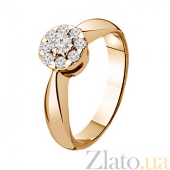 Золотое кольцо с бриллиантами Избранница KBL--К1641/крас/брил