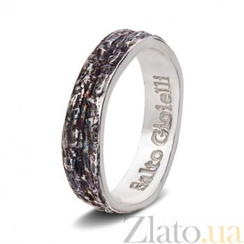 Серебряное кольцо Левкада Ант 001 сч
