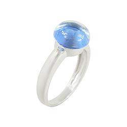 Золотое кольцо со шпинелью Леони