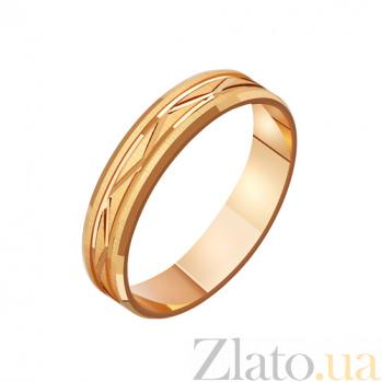 Золотое обручальное кольцо Танец нашей любви TRF--4111168